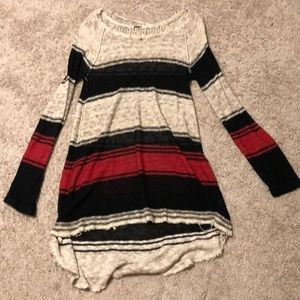 Free People Tunic Knit Top